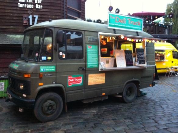 camden Market, deli Truck