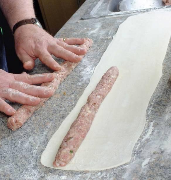 sausage roll,