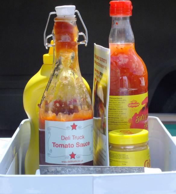 Deli Truck home made tomato sauce