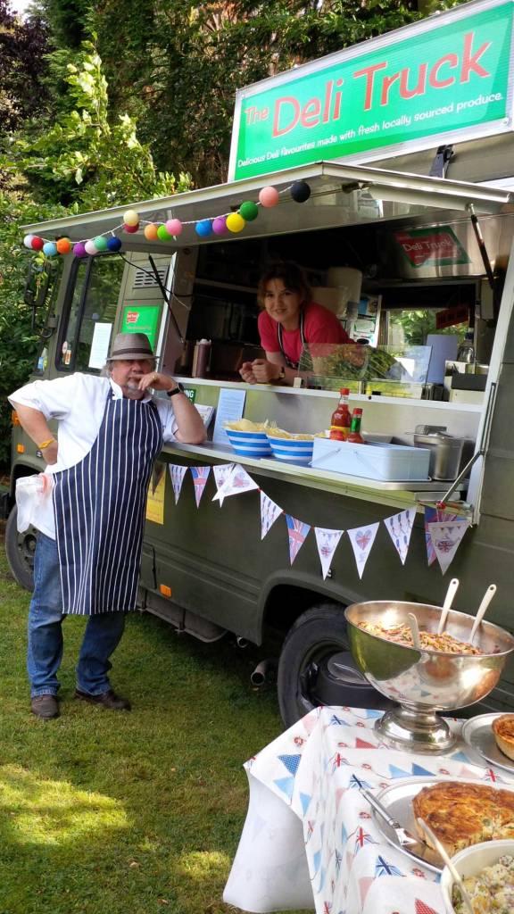 Deli Truck catering staff