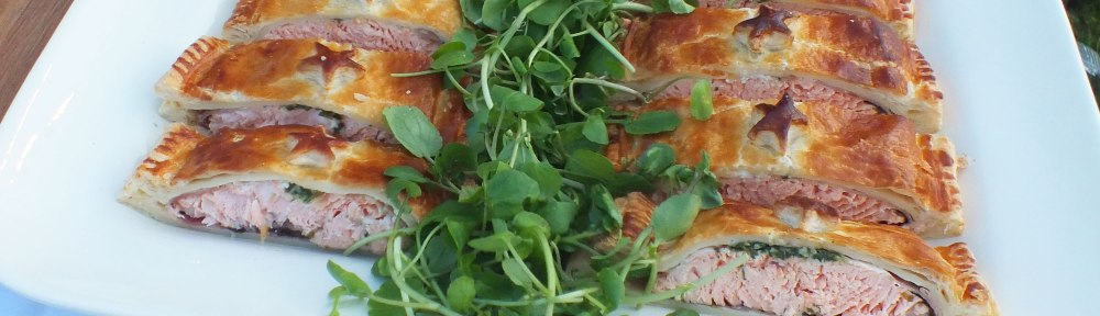 Salmon, Deli Truck, catering, Kent