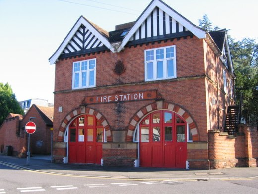 The Old Fire Station, Tonbridge, Deli Truck