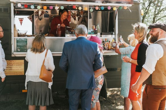 Deli Truck, catering, wedding, wedding catering, street food, kent,