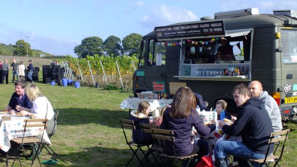 Squerryes Estate, Deli Truck, Catering, Kent catering,