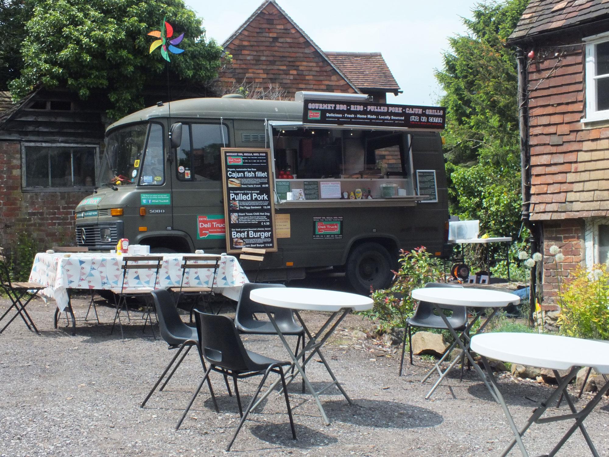 Deli TRuck, Kent, Catering Kent, Beer festival, sevenaoaks,