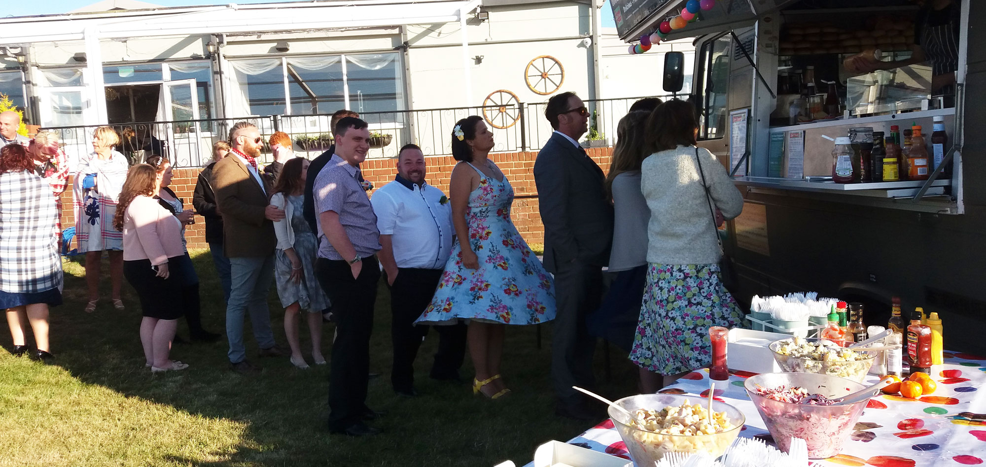 Deli Truck, BBQ, catering, wedding, wedding catering